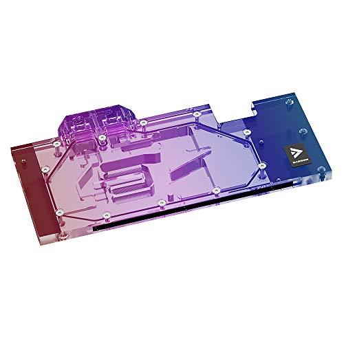 Barrow GPU 銅 5V ARGB SYNC LED 水冷却ブロック 水冷ヘッド For MSI RTX3070 Suprim X 8G/ MSI RTX3070 Gaming X TRIO
