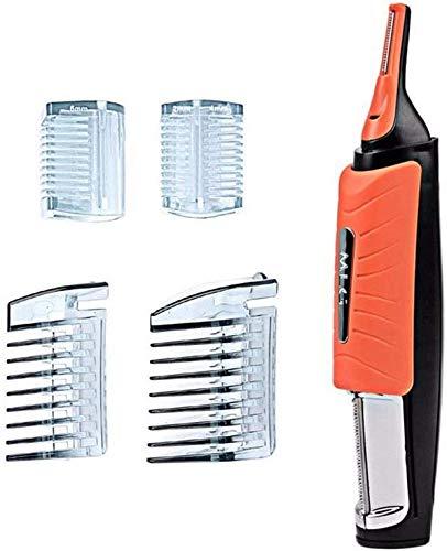 Máquina de afeitar eléctrica 2 en 1 cortadora de cabello nariz pelo...