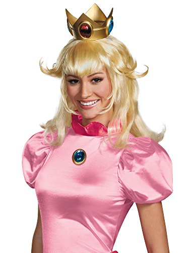 Generique - Perücke Prinzessin Peach für Erwachsene