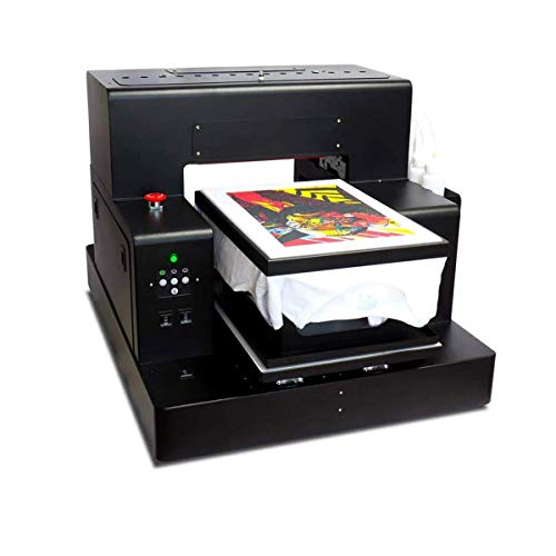 Automatic A3 T-Shirt Printing Machine DTG Printer Tshirt Machine for T-ShirtsSweatshirtsHoodiesPantsJeans etc
