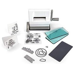 "Sizzix Sidekick Starter Kit 661770 Portable Manual Die Cutting & Embossing Machine for Arts & Crafts, Scrapbooking & Cardmaking, 2.5"" Opening"