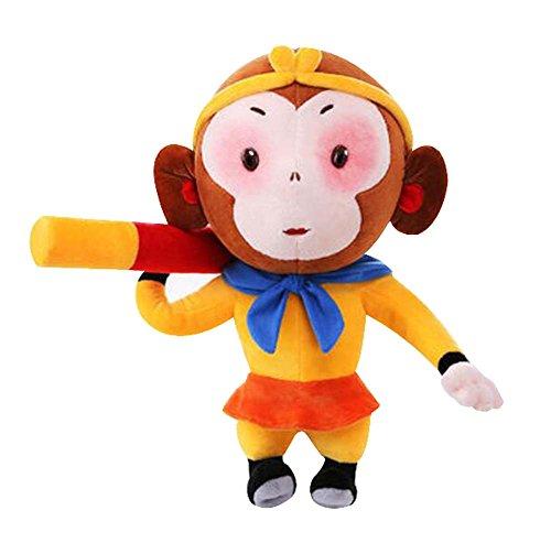 Black Temptation Élégant Belle Peluche marionnettes / Lovely Animaux poupées, Monkey Roi 11,8 \