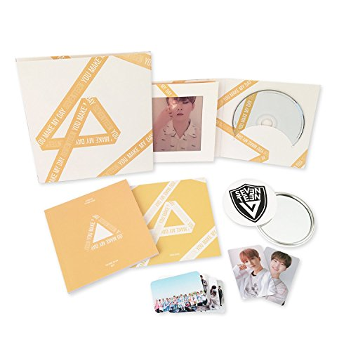 SEVENTEEN 5th Mini Album - YOU MAKE MY DAY [ MEET Ver. ] CD + Photobook + Lenticular Card + Photocard + Folded Poster + FREE GIFT / K-POP Sealed