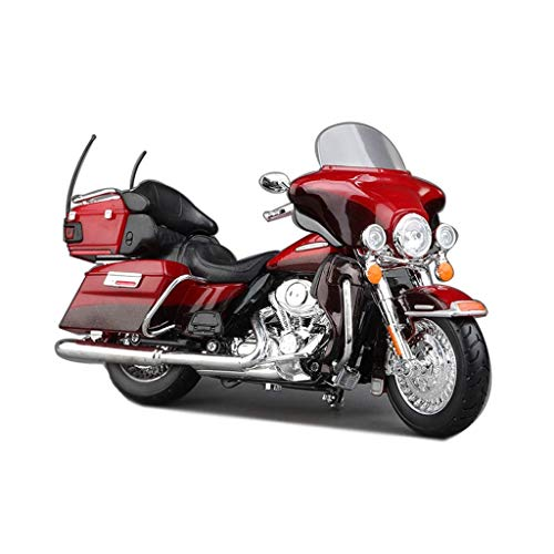 JIALI Auto-Modell Kompatibel mit Harley-Davidson 1:12 Legierung Motorrad Modell Simulation Druckguss-Automodell...