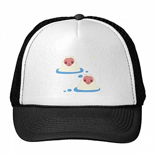 DIYthinker Japaner-Reise-glückliches Tier des Baseballmütze Baseballmütze Nylon Mütze Kühle Kind-Hut-Justierbare Kappe Geschenk Erwachsene