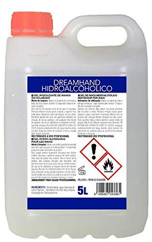 DREAMHAND - Gel Hidroalcohólico Higienizante de Manos Envas