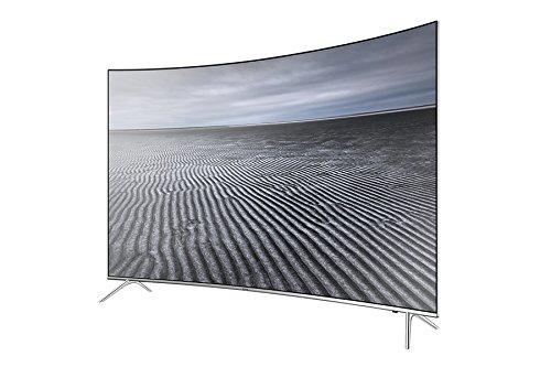 Samsung UE65KS7590 65' 4K Ultra HD Smart TV WiFi Plata - Televisor (4K Ultra HD, A+, Mega Contrast, Plata, 3840 x 2160 Pixeles, Curva)