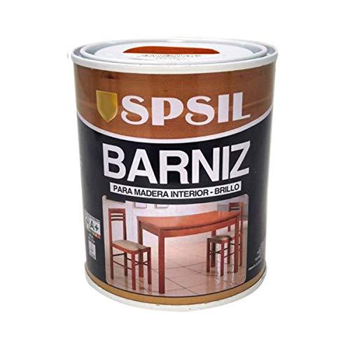 Pintura Barniz para Madera, Pintura Barniz de Rápido Secado para Superfícies Interiores(Madera Caoba, 375ML)