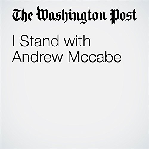 I Stand with Andrew Mccabe audiobook cover art