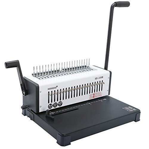 /21/trous//200/feuilles Rayson reliure machine Perforatrice /à anneaux avec Peignes Starter Set/