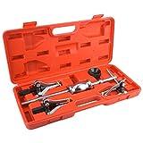 Hlyjoon Kit de extractor de engranajes de martillo deslizante de coche 5Pcs/Set, herramienta de extracción de cojinete de engranaje interno/externo Kit de martillo deslizante de acero al carbono