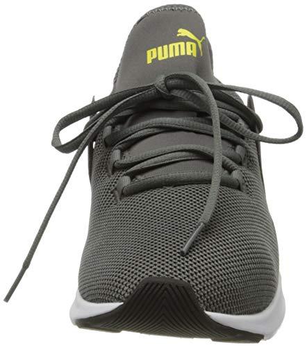 PUMA Electron Street, Zapatillas Unisex Adulto, Gris (Castlerock/Meadowlark White Black), 37.5 EU