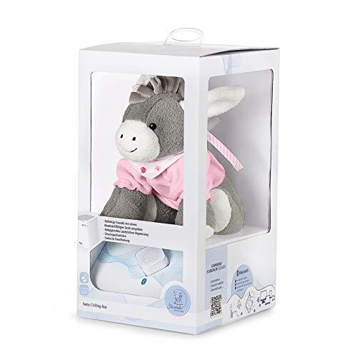 Sterntaler Chilling Box Emmi Girl (DE 34407560), Digitale Spieluhr, Inkl. Bluetooth-Lautsprecher und USB-Kabel, Alter: Babys ab der Geburt, 20x20x8 cm, Rosa