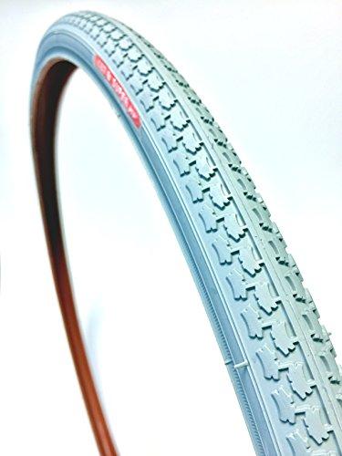 CST Rollstuhlreifen 24 x 1, ETRTO 25-540/541, 600x25A, grau, Rollstuhl Reifen Super HP Blockprofil + Long Wear, Hochdruckreifen bis 7,5 bar
