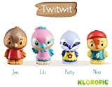 Klorofil- Famille TwitTwit Personnages À Collectionner, 700302, Multicolore