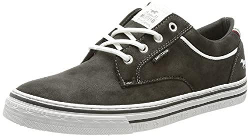 MUSTANG Herren 4147-307 Sneaker, dunkelgrau, 43 EU