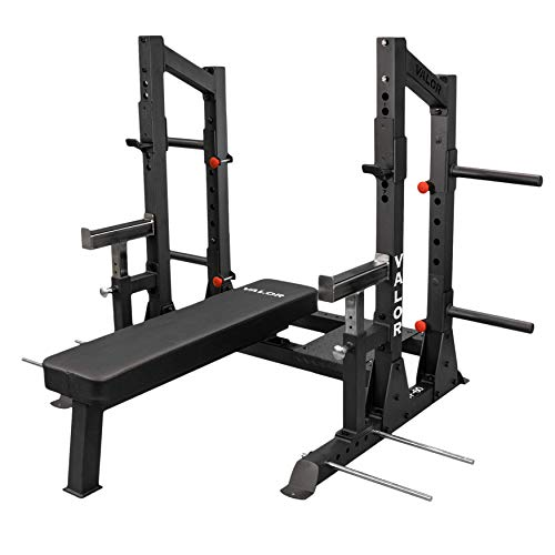Valor Fitness BF-60 Competition Bench Press Rack for Weight Lifting Powerlifting Workout