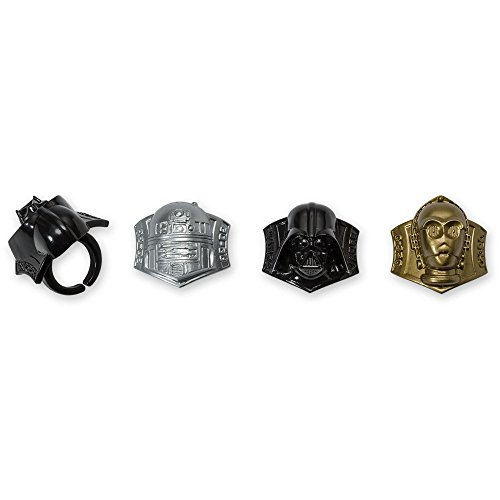 Price comparison product image DecoPac Star Wars Darth Vader,  R2-D2,  C-3PO Cupcake Rings (24 Count)