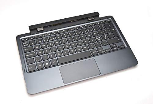 KKRTX EEUR Original OEM Nordic Tastatur für Dell Latitude 11 5175 5179 Backlit Osteuropäische Docking-Tastatur K11A wiederaufladbarer Akku