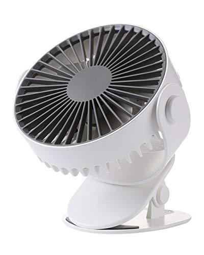 Elektrische ventilator Koelventilator Desktop Clip Ventilator 360 Graden Roterende Mute Auto Kan worden geknipt Baby Bed Kleine Ventilator
