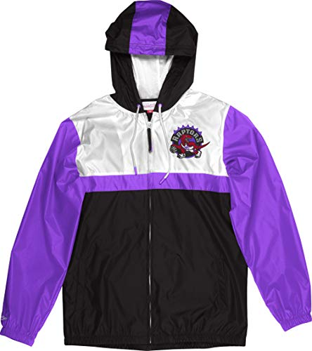 Mitchell & Ness Toronto Raptors NBA Margin of Victory Windbreaker Jacket Jacke Anorak