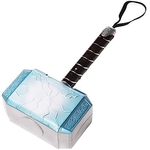 Vengadores Hero Thor's Hammer Thor's Hammer LED Sonido brillante Accesorios de juguete para niños Regalo para niños 28cm