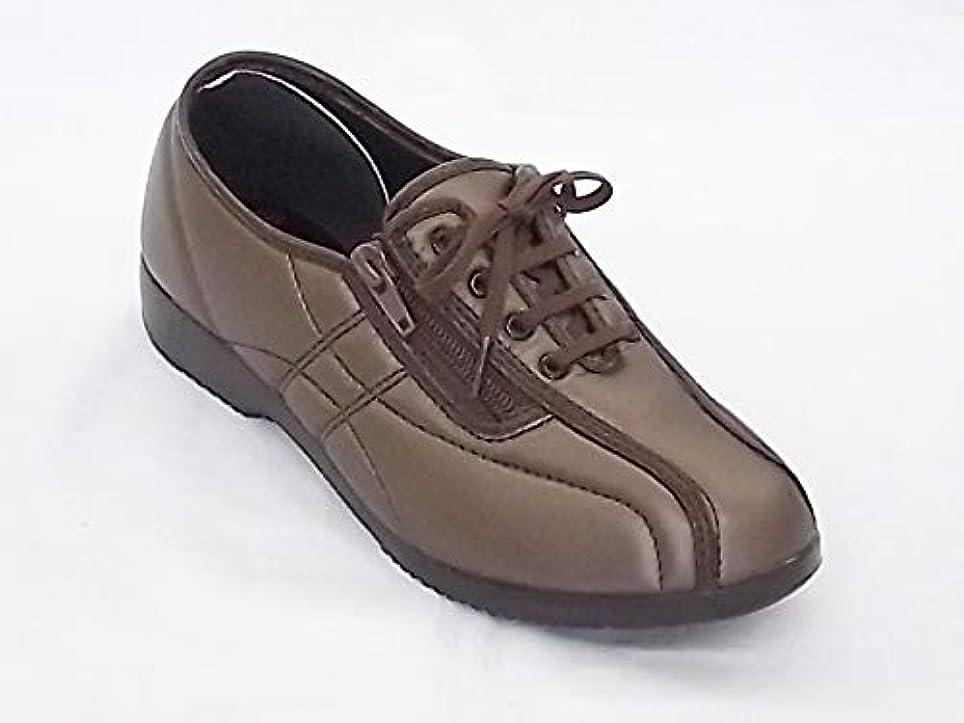 レンジ試験かんがい[ダンロップ] HOUSE BRAND TSUBAME くつろぎエルダー (サイズ:23.5cm カラー ブロンズ) KE326 スニーカー シューズ レディース 靴 お取り寄せ商品