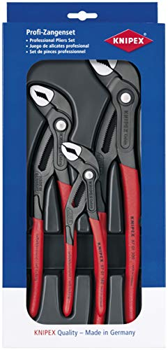 "Knipex 00 20 09 V02""Cobra"" Pliers Set (3 Piece)"