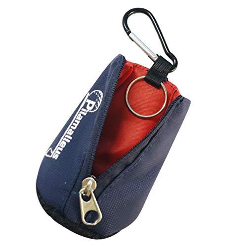 ABOOFAN Toalla de Golf Azul Bolsa de Cintura Mini Pelota de Golf Portátil Paño Limpiador Toalla con Mosquetón Clip para...