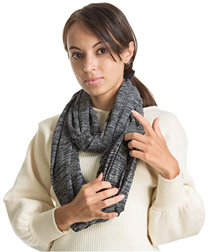 Travel 2 Hidded Zipper Pocket Infinity Scarf - Women Men Girl Travel Lightweight Convertible Hidded...