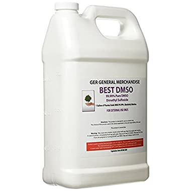 Ger General Merchant 1 Gallon 99.995% Pharma Grade DMSO, Absolutely ODORLESS from GER General Merchandise.