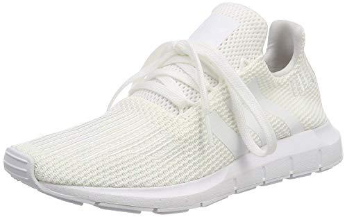 adidas Swift Run, Zapatillas de Gimnasia Hombre, Blanco (Footwear White/Footwear White/Core Black 0), 36 EU