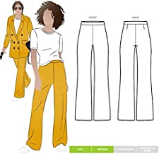 Style Arc Sewing Pattern - McKenzie Woven Pant (Sizes 04-16) - Click for Other Sizes Available