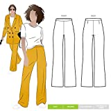 Style Arc Sewing Pattern - McKenzie Woven Pant (Sizes 18-30) - Click for Other Sizes Available