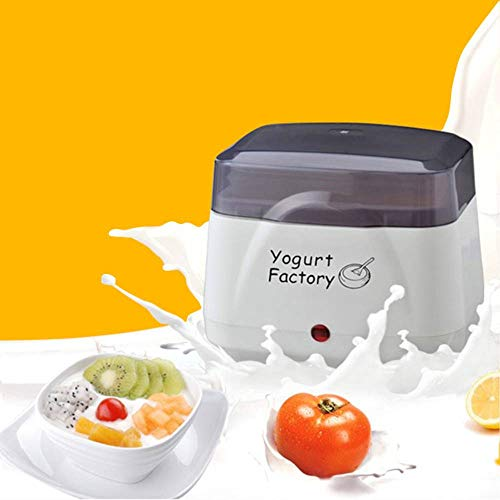 Yogurt Maker Machine | BPAFree Storage Container amp Lid | Perfect for Organic Sweetened Flavored Plain or Sugar Free Options for Baby Kids Parfaits