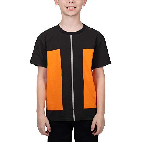 Youth Boys Naruto Anime Cartoon Cosplay Graphic Tee Shirt-XXL
