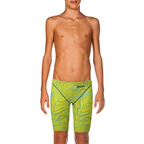 ARENA Powerskin St 2.0 Jammers Youth Racing Badeanzug Sonic Lime, 26