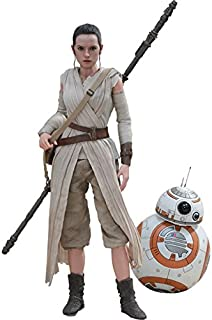 Star Wars Movie Masterpiece - 1/6 Scale Fully Poseable Figure The Force Awakens - Rey & BB-8 Set