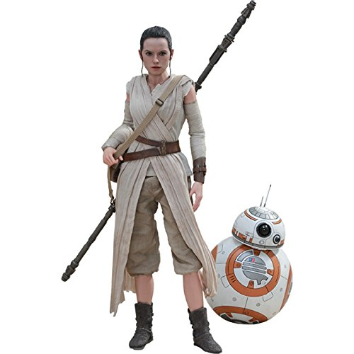 Movie Masterpiece - 1/6 Scale Fully Poseable Figure: Star Wars The Force Awakens - Rey & BB-8 Set
