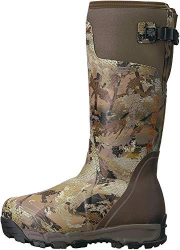 "LaCrosse Men's 376037 Alphaburly Pro 18"" 1600G Waterproof Hunting Boot, Optifade Marsh - 10 M"