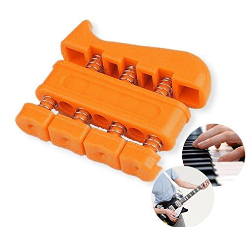 LMZZGAOYANQING Bidirezionale significa che la forza è dito in acciaio presa ginnico formazione di riabilitazione piccole attrezzature per il fitness , orange
