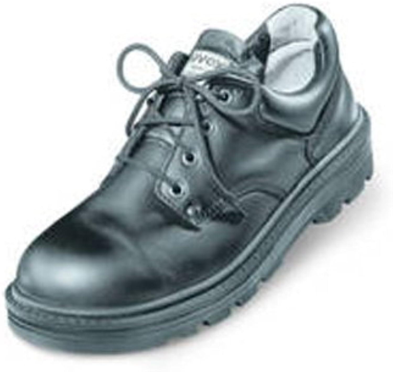 Uvex 8450.9–12Classic lacé Chaussure de sécurité avec semelle intérieure en mousse Hydroflex 3d, S2, EU 47, taille 12, Noir