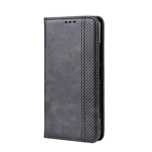 KERUN Hülle für Nokia G10/G20/Nokia 6.3, Leder Flip Klappbar Lederhülle, TPU Folio Flip Wallet Cover Stand [Kartenslots] Schutzhülle Hülle für Nokia G10/G20/Nokia 6.3. Schwarz