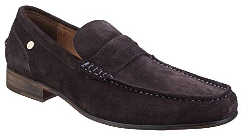 Gabicci Mens Crosby Suede Hard Wearing Slip on Loafer Shoes