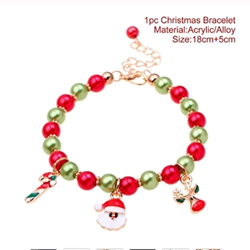 Kerstboom Kerstmis Kerstman Armband Vrolijk Kerstmis Decor Voor Thuis Gelukkig Nieuwjaar Kerstmis Ornamenten Xmas