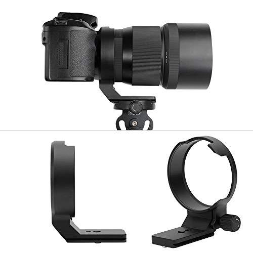 Mugast Anillo de Montaje de trípode de Lente, Anillo Adaptador de Soporte de Soporte de trípode de Lente de cámara de aleación con Placa de liberación rápida para Sigma 135mm f1.8 DG HSM Art