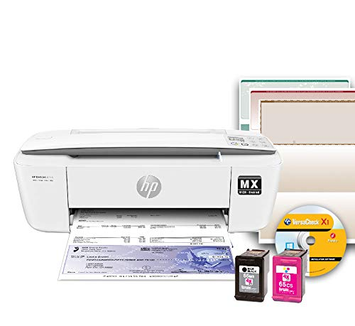 VersaCheck HP Deskjet 3755MX, MICR All-In-One Printer, Gray...
