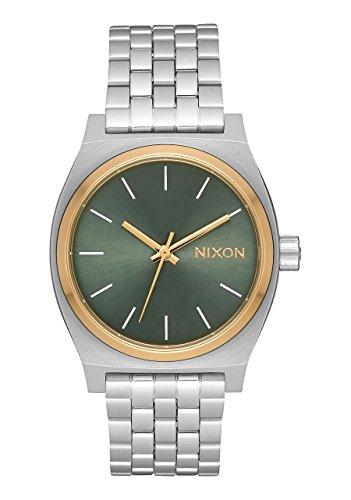 Nixon Orologio Analogico Quarzo Donna con Cinturino in Acciaio Inox A1130-2877-00