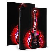 IPad Mini5 ケース 2019 第五世代 モデル カバー ギタープリント 超薄型 超軽量 PUレザー スマートカバー 傷防止 耐衝撃 TPU 保護 キズ防止 指紋防止 7.9インチタブレット用