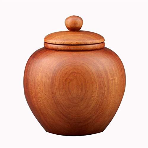 Ataúdes y urnas Memorial urna de madera urna del animal doméstico Caja verdadera hecha a mano Ataúd Be applicable compatible for mascotas humano cenizas arte de madera urnas Be applicable comp